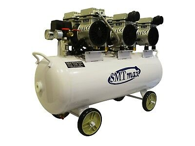 New 2.25 HP, 17 Gallon, Dental Noiseless & Oil Free Air Compressor 220V
