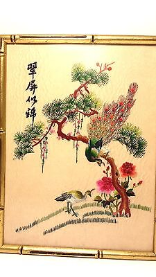 Stunning Antique Chinese Silk Embroidery