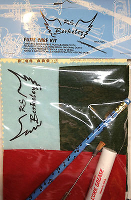 New Players Flute Super Saver Instrument Care Kit With Cd, Polish Cloth, Brush