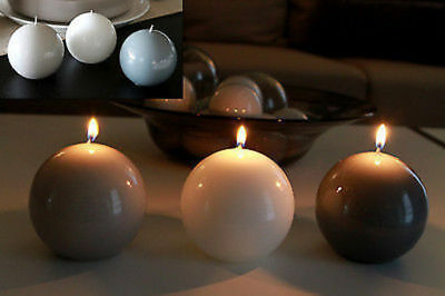 24 Candle Glossy Ball .9cm Diameter Bulk Wholesale lot redued to clear