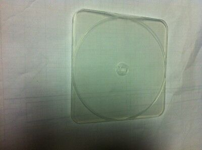 200 New 4mm Ultra Slim CD/DVD Poly Cases, Round Corner Clear CP04-1C-RSR-PS09