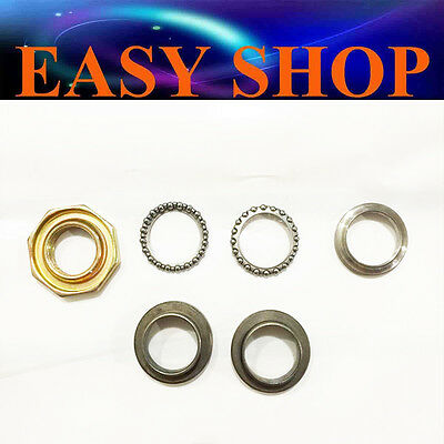 Steering Head Stem Bearings Nut Ball Yamaha Py Pw 50 Py50 Pw50 Peewee Bike