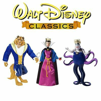 Disney Classic Collection Villains and Beast Dolls
