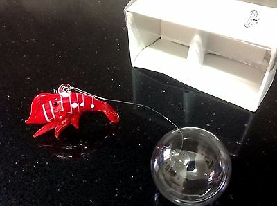 NEW Lobster glass with floating ball for Aquarium  include a GIFT