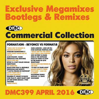 DMC Commercial Collection 399 Club Hits Mixes & Two Trackers DJ Music CD