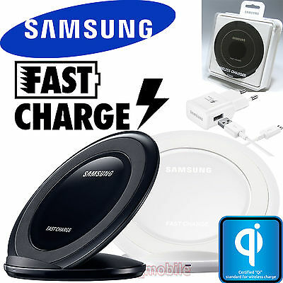 SAMSUNG Genuine FAST CHARGE WIRELESS CHARGER STAND EP-NG930 NEW w/Box S7 S7 edge