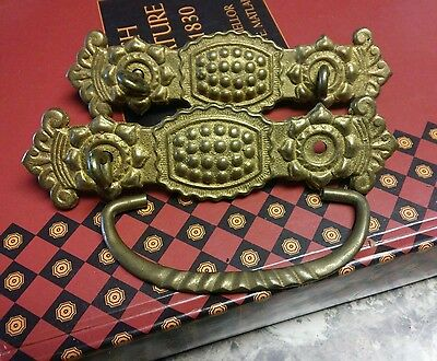 2 beautiful brass Ritterware drawer pulls