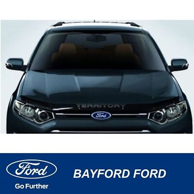Bonnet Protector Tinted New Ford Territory Sz 2011 Genuine Ford Part
