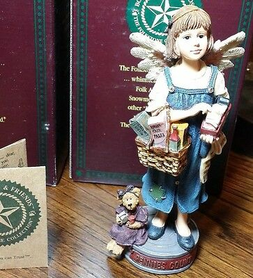 Boyds Bears Retired Folkstone,  Calliope ClipsAlot Angel of Pennies 28211