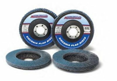 "4 1/2"" x 7/8"" 36 Grit Zirconia Flap Discs Jumbo-High Density Type 29, 10/Pack"
