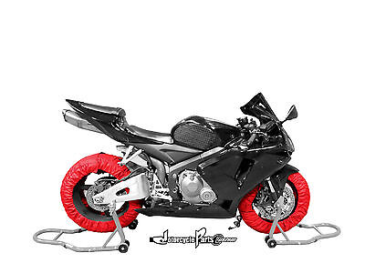 Motorcycle Tire Warmer Set (Front & Rear) 120/190 For CBR1000RR, GSXR 1000, ZX10