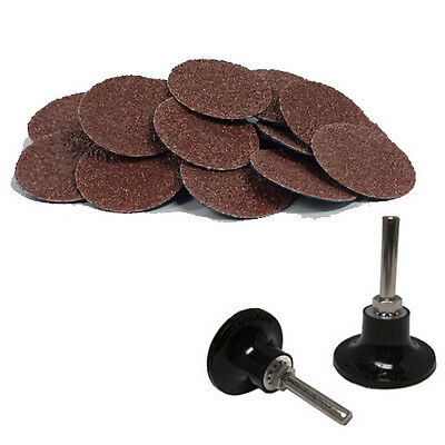 "200-2/"" Roloc Surface Conditioning Disc Coarse and Mandrel Disc Holder"