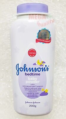 Johnson Baby Powder Bed Time help to calm and relax before bed 200g.