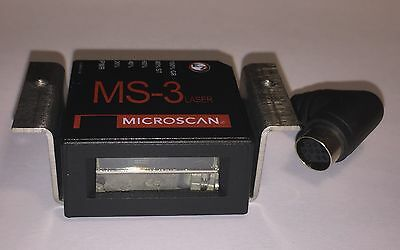 NEW Microscan MS-3 FIS-0003-0036G Laser Raster High Density Barcode Scanner NIB