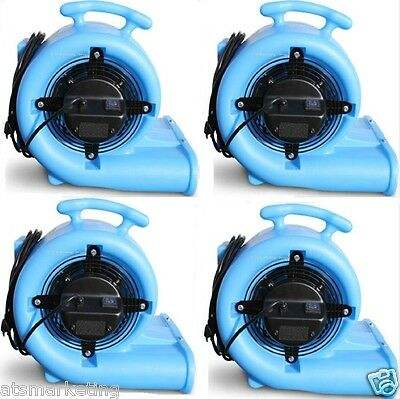 Carpet Cleaning Mytee AIR-MOVER model 2200 (Set Of 4)