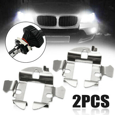 2X H7 HID Xenon Bulb Holder Adapter Base Retainer Clip for Benz BMW Audi