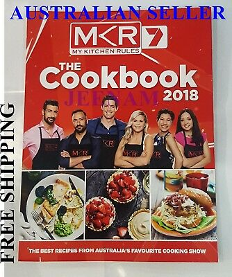 My Kitchen Rules Mkr 2018 Edition The Cookbook Best Recipes + Free Shipping