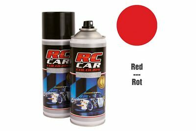 RC Car Colours - Lexan Spray Rot 150ml (6.60 Euro pro 100 ml)