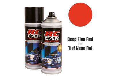 RC Car Colours - Lexan Spray Fluo Dunkel Rot 150ml (6.60 Euro pro 100 ml)
