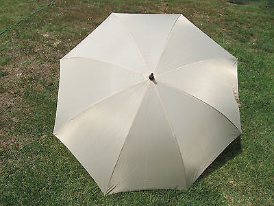 Champagne ivory Wedding Umbrella 60 inch size covers 2 adults FREE SHIPPING
