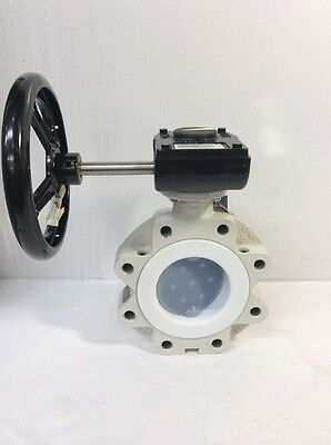 """Neotecha AG Tyco 4""""150/ DN100 PN10 Butterfly Valve, Neoseal, With AG1 210-07"""