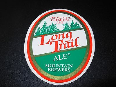 LONGTRAIL BREWING Trees LOGO STICKER decal craft beer brewery long trail