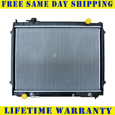 "Radiator For 1995-2004 Toyota Tacoma L4 V6 Measure Core ""18-11/16"" Between Tanks"