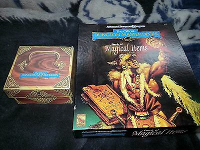 AD&D TSR | 9423 Dungeon Master Decks *Deck of Magical Items* Over 400 ITEMS