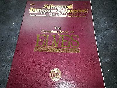 The Complete Book of Elves (Advanced Dungeons & Dragons 2nd edition) 2131