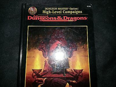 HIGH-LEVEL CAMPAIGNS New D&D SC TSR Dungeons Dragons AD&D High Dungeon Masters