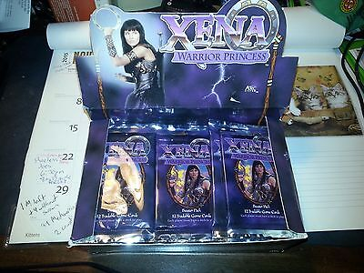 xena warrior princes trading card game booster packs one pack per order