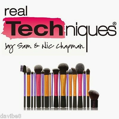Lot of Real Techniques Brush Collection Choose from 20 different brushes & sets!