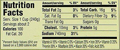 Gluten Free Cafe Chicken Noodle Soup, 15 Ounce Pack of 12