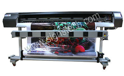 """New 1850mm 72"""" Large ECO Solvent Printer DX5 Wide Format +RIP,For Banners,Vinyls"""