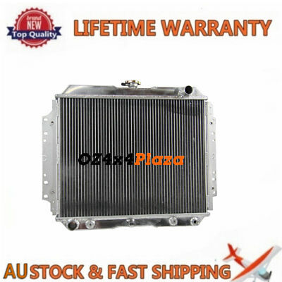 Aluminum radiator FOR HOLDEN RODEO TF G3 G6 2.2L 2.6L PETROL 1987--97 AT/MT 3ROW