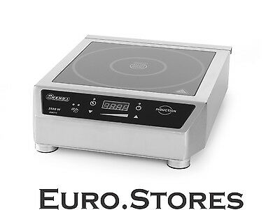 Hendi 3500D Induction Cooker 239711 3500W Stainless Steel 35-240 °C Genuine New
