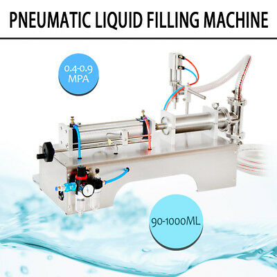 90-1000Ml Pneumatic Liquid Filling Machine For Shampoo,Oil,Water Perfume