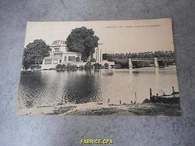 Cpa Agde L' Herault Et Le Chateau Herault 34 N722
