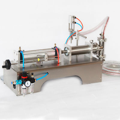 In USA PNEUMATIC LIQUID FILLING MACHINE FOR SHAMPOO,OIL,WATER PERFUME 90-1000ML
