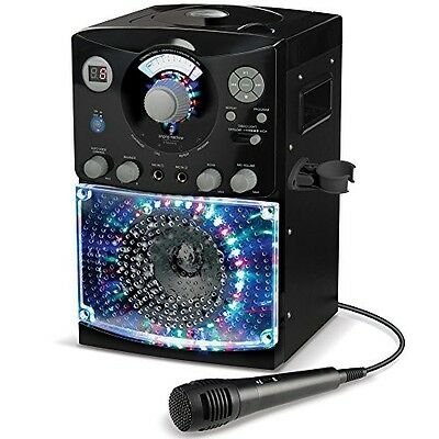 Karaoke Singing Machine System CDG Party Singalong CD Player Microphone Kareoke