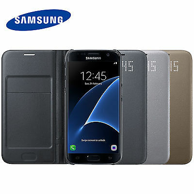 Samsung EF-NG930 LED View Case Cover For GALAXY S7 SM-G930