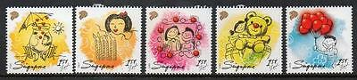 Singapore MNH 2009 Greetings Stamps - Let's Celebrate