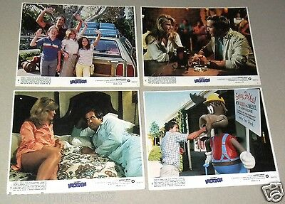 """{Set of 8} National Lampoon's Vacation CHEVY C Org. 10X8"""" Movie Lobby Cards 80s"""