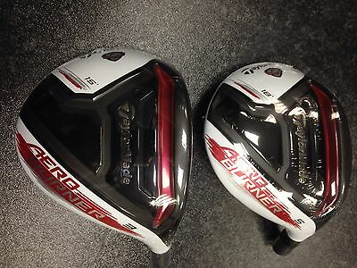 SPECIAL Tour Issue TaylorMade AeroBurner TP 'WIDE' Fairway Woods *Head Only*