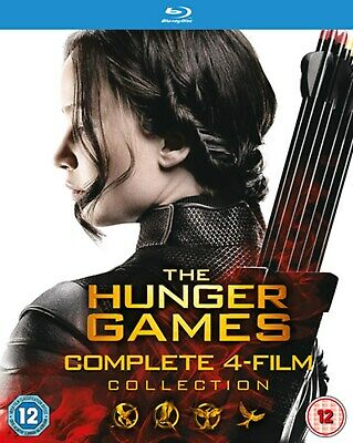 The Hunger Games: Complete 4-film Collection (Box Set) [Blu-ray]