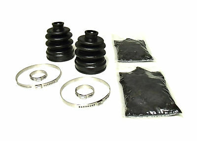 1990-2000 Honda Fourtrax 300 4x4: Pair of Front Axle Inner & Outer CV Boot Kits