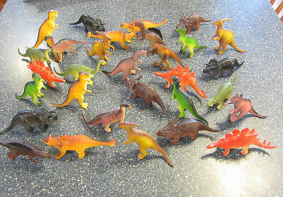 "6 New Large Assorted Toy Dinosaurs 6"" Dinosaur Figures Dino Animal Kids Playset"