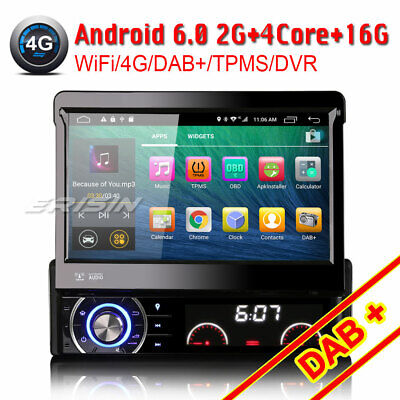 "7""Android 4.4.4 desmontable 1 din autoradio dvd/cd gps DAB+/IN Car Radio 3090AGS"