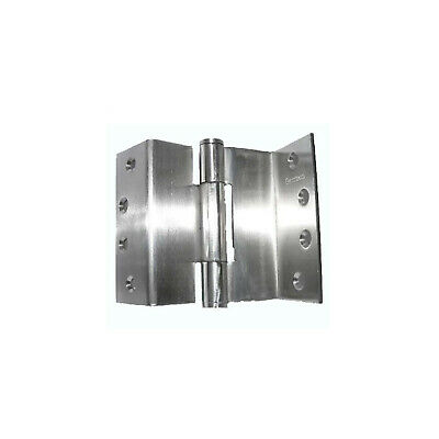 Quality Hospital Door Hinge SS080 100mm Fixed Pin Stainless Steel