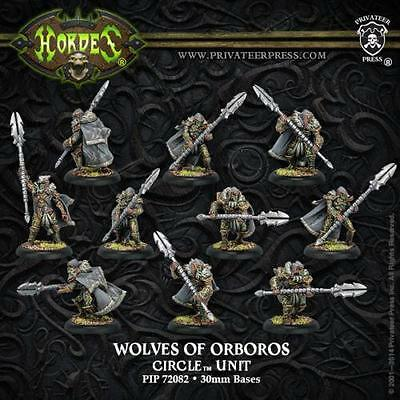 Privateer Press Warmachine Hordes Circle Reeves Wolves of Orboros PIP 72082